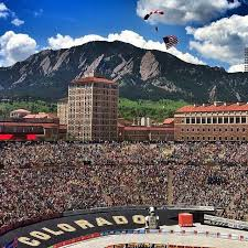 Colorado travel irons images One of my favorite views both the flatirons and the cu buffs jpg