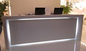 Small Salon Reception Desk by Desk Design Ideas Good Small Reception Desk Furniture Design Gnscl