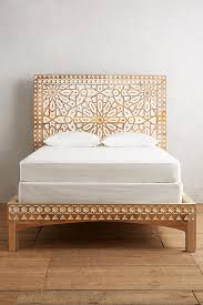 Anthropologie Bed Skirt Handcarved Albaron Bed Anthropologie