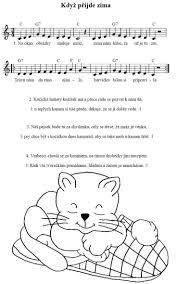 230 best písničky notičky images on pinterest music education