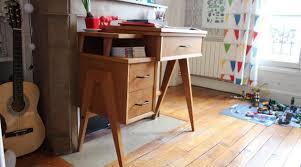 petit bureau vintage déco rétro chez moi c est vintage hellocoton