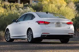 hyundai genesis back 2015 hyundai genesis sedan drive motor trend
