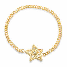 chain ring necklace images Mini star diamond chain ring dana seng jewelry collection jpg
