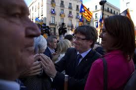 catalonia mayors u0027 show of strength amid pressure from spanish