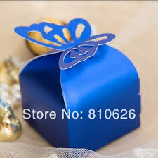 Blue Favor Boxes by Compare Prices On Navy Blue Wedding Box Shopping Buy