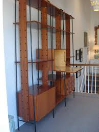 vintage room divider an important vintage italian three section room divider wall unit