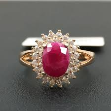 natural ruby rings images 925 silver inlaid natural ruby rings in rings from jewelry jpg
