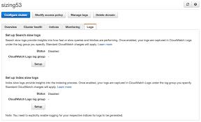 Viewing Amazon Elasticsearch Service Slow Logs Aws Database Blog