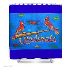 Curtains St Louis Shower Curtains Fresh St Louis Cardinals Shower Curtain
