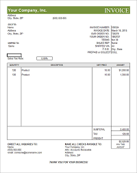 invoice template editable  tunnelvisie with  from tunnelvisietk