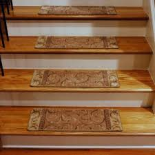 home decor bautiful stair tread rugs and carpet treads design