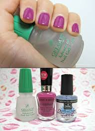 gel nail light sally s beauty gel nail manicure using only your nail polish no uv light thicker