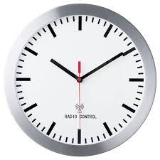 burrig radio controlled wall clock 30 cm ikea