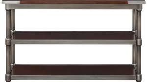 Metal Sofa Table Incredible Popular Neutral Wood And Metal Sofa Table Helkk Wood