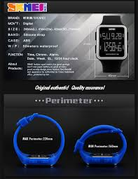 cheap designer watches skmei cheap designer watches for 2016 squre led silcone