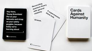 where to buy cards against humanity cards against humanity women s scholarship fuels a debate