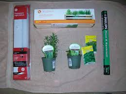 Fluorescent Light For Plants Simple Indoor Herb Garden With Adjustable Grow Light 5 Steps