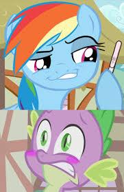 Mlp Rainbow Dash Meme - 759119 artist the equestrian mist blushing edit faic female