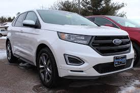 white ford edge white platinum 2015 ford edge sport at eau ford lincoln
