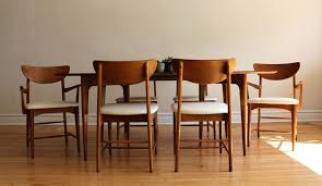 mid century modern dining set by kroehler in 3726 west montrose