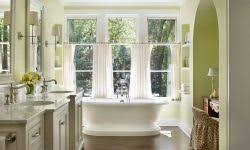 Green Bathroom Window Curtains Green Bathroom Window Curtains Bathroom Ideas