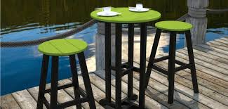 Green Bistro Chairs Contempo Bistro Furniture By Polywood Vermont Woods Studios