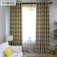 Pattern Drapes Curtains Norne Modern Geometric Pattern Window Treatment Blackout Curtains