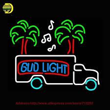 bud light neon light bud light magic truck light neon sign bright handcrafted decorate