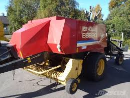 used new holland kanttipaalain bb 920 paalivaunu square balers
