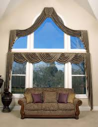 blind u0026 curtains arched window design american style arched