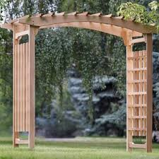 lowes wedding arches garden arbors you ll wayfair