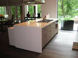 Stainless Steel Outdoor Countertops Brooks Custom by Waterfall Style Concrete Tops Brooks Custom