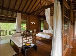 bali style interior design bamboo furniture set dining room