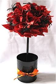 How To Make Ribbon Topiary Centerpieces by Top 10 Diy Halloween Topiaries Top Inspired