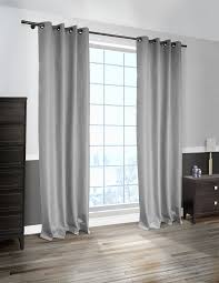 Light Grey Blackout Curtains Liteout Cabo Linen Look Blackout Curtain Panel 1 Panel