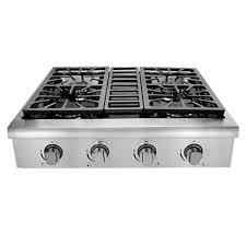 Clean Stainless Steel Cooktop Whirlpool 36 In Gas Cooktop In Stainless Steel With 5 Burners