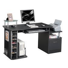 bureau informatique bureau informatique noir s 202a 85