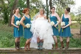 elegant teal bridesmaid multi designing costume fashion