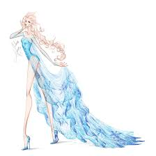 collection chiffon elsa 2 by frozen winter prince on deviantart
