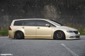 now this is a van stance vip style honda odyssey japan