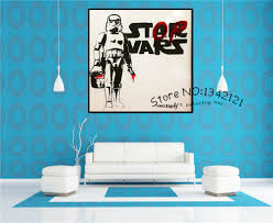 online get cheap stormtrooper star wars wall art aliexpress com
