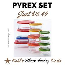 is target black friday note 5 deal only for thursday kohl u0027s pyrex set deal black friday just 15 49 for 24 piece set