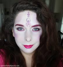 fantasy halloween makeup halloween look 1 alien princess using wet n wild fantasy makers