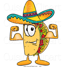 royalty free stock cuisine designs of taco cartoon characters