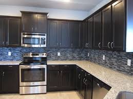 black kitchen backsplash backsplash for black kitchen cabinets smith design kitchen