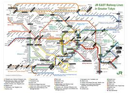 Tokyo Metro English Map by Trains And Subways In Japan Japan Dreaming Japan Dreaming
