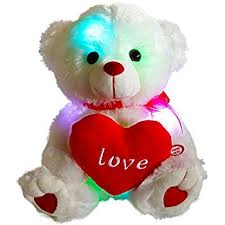 valentines day stuffed animals wewill led light up glow adorable stuffed animals