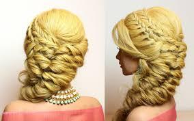 medium length hairstyles with braids prom hairstyle for long medium hair braids tutorial youtube