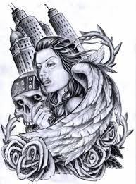 tattoos u2013 clown u0026 skull tattoo design tattooshunter com