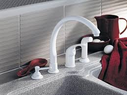 White Kitchen Faucets by Confortable White Kitchen Faucet Spectacular Kitchen Decor Ideas